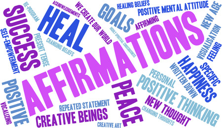 Affirmations to help you stay on track
